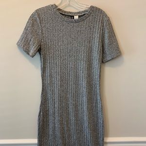 GREY H&M DRESS
